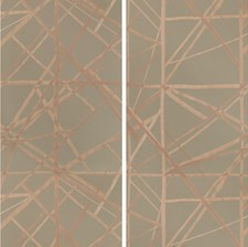 Mocha/Chai Contemporary Wallcovering by Groundworks