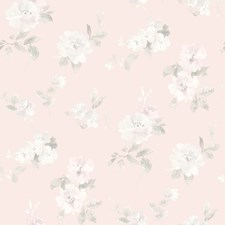 Light Pink Wallcovering by Brewster
