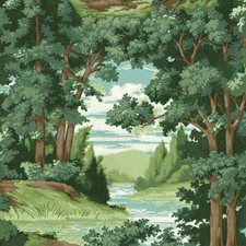 HO3300 Forest Lake Scenic by York