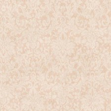 Pale Gold/Light Pink/Off White Damask Wallcovering by York