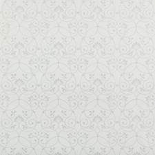 White/Silver Glitter Delicate Wallcovering by York