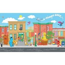 JL1213M Sesame Street XL Mural by York