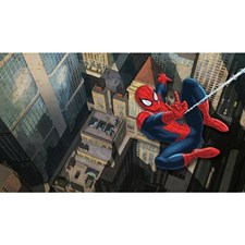 JL1405M Ultimate Spiderman Cityscape Wall Mural by York