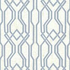 Blues/White/Off Whites Trellis Wallcovering by York