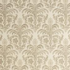 Ivory/Beige/Khaki Damask Wallcovering by Kravet Wallpaper