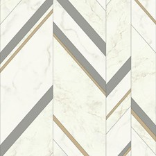 MM1803 Marble Chevron by York