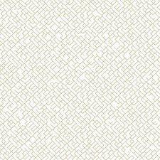 Off White/Golden Tan Chevron Wallcovering by York