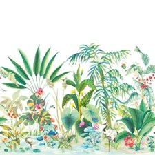 MU0254M Tropical Panoramic Mural by York