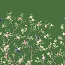 MU0316M Lingering Garden Mural by York