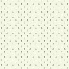 Cream/Silvery Grey Small Prints Wallcovering by York
