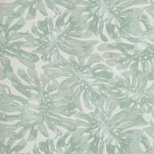 Aqua Botanical Wallcovering by Lee Jofa Wallpaper