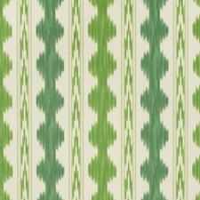 Aloe/Fern Print Wallcovering by Brunschwig & Fils
