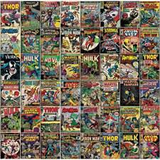 RMK11410M Marvel Comic Cover Mural by York