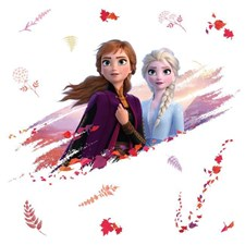 RMK4076GM Disney Frozen 2 Anna & Elsa Giant Wall Decals by York