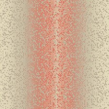 Brown/Orange Geometrics Wallcovering by York