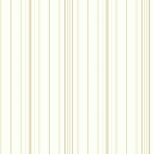 White/Coffee With Cream/Cocoa Stripes Wallcovering by York