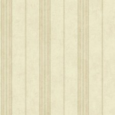 Cream/Peach/Taupe Stripes Wallcovering by York