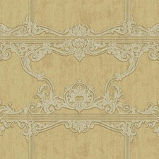 Metallic Gold/Light Taupe/Grey Architectural Wallcovering by York