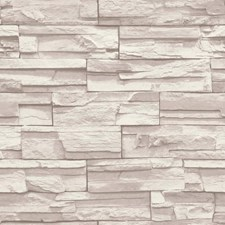 Cream/Light Taupe Bricks Wallcovering by York