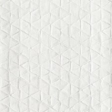 Silver White Geometrics Wallcovering by York