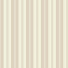 White/Grey Stripes Wallcovering by York