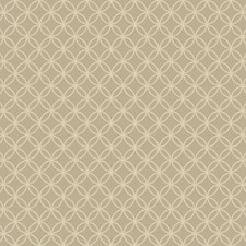 Silver/Gold/Beige Geometrics Wallcovering by York