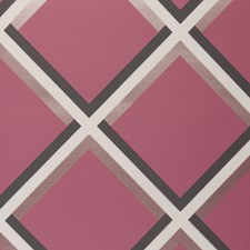 Raspberry Abstract Wallcovering by Clarke & Clarke