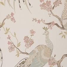 Pastel Wallcovering by Clarke & Clarke
