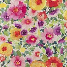 Multi Floral Large Wallcovering by Clarke & Clarke