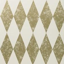 Gold Wallcovering by Clarke & Clarke