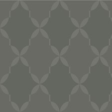 Grey/Charcoal Modern Wallcovering by Kravet Wallpaper
