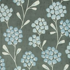 Grey/Light Blue/Spa Botanical Wallcovering by Kravet Wallpaper