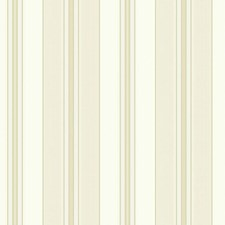 Cream/Beige/Tan Stripes Wallcovering by York