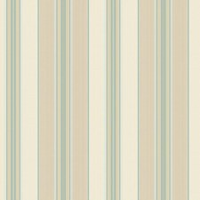 Beige/Tan/Grey Green Stripes Wallcovering by York