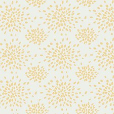 Yellow On White Wallcovering by Scalamandre Wallpaper