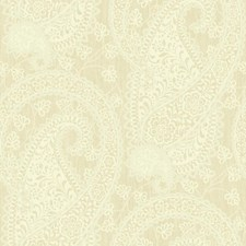 Matte Beige and Cream On Metallic Beige Pearlescent Wallcovering by York