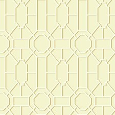Cream/White/Tan Asian Wallcovering by York