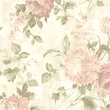 Dusty/Pink Wallcovering by Scalamandre Wallpaper