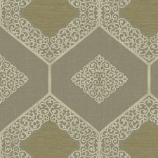 Antique/Gold Wallcovering by Scalamandre Wallpaper
