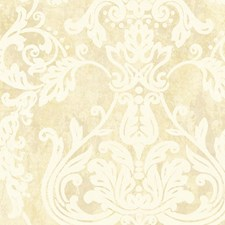 Cream White Wallcovering by Scalamandre Wallpaper