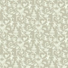 Grey/Beige/Cream Toile Wallcovering by York