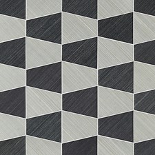 Nickel/Onyx Wallcovering by Scalamandre Wallpaper