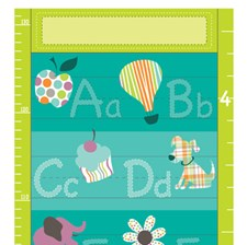 WPG0621 Alphabet Growth Chart Decal by Brewster