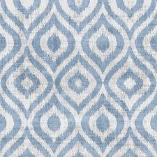 Powder Blue Ikat Wallcovering by Winfield Thybony