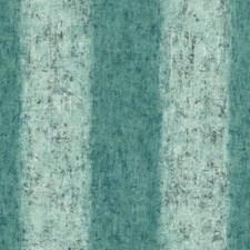 Teals/Dark Grey/White Stripes Wallcovering by York