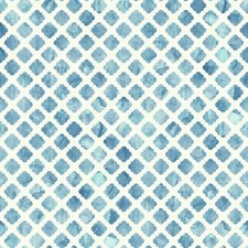 White/Blue Contemporary Wallcovering by York