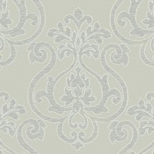 Beige/Silver/Grey Architectural Wallcovering by York