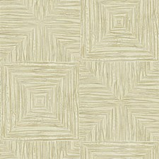 Cream/Gold Contemporary Wallcovering by York